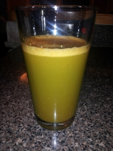 Spinach, Carrot, Apple juice