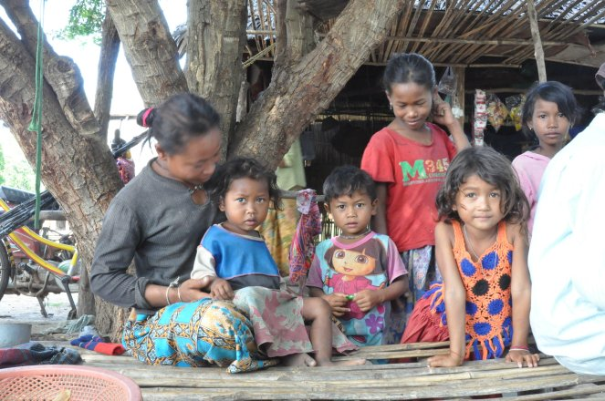 Sponsored kids in Phnom Sruoch, Cambodia. Photo from WorldVision.org